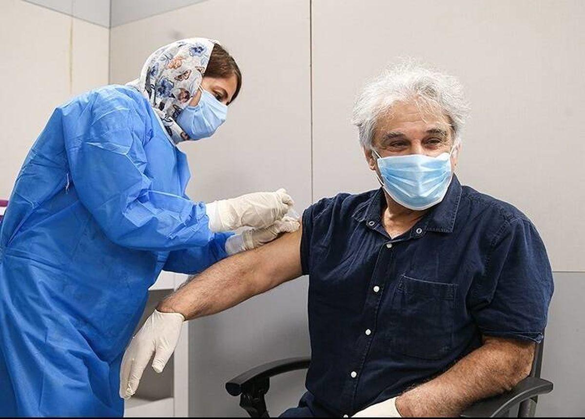 مهدی هاشمی بازیگر معروف واکسن کرونا زد +عکس