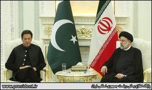 تصاویر: دیدار نخست وزیر پاکستان با رئیسی