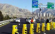 محور کندوان و آزادراه تهران - شمال یک طرفه شد