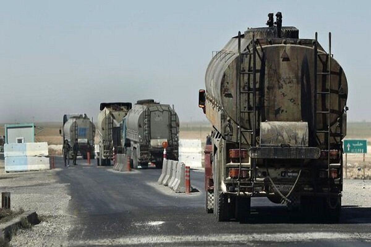 اشغالگران آمریکایی نفت دزدی سوریه را به عراق بردند