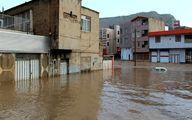 ۲۳ استان درگیر سیل و سیلاب