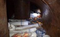 جاساز حرفهای کالای قاچاق در تانکر سوخت +عکس