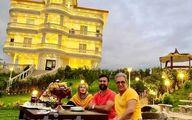 ویلای فوق لاکچری بهاره رهنما و همسرش +عکس