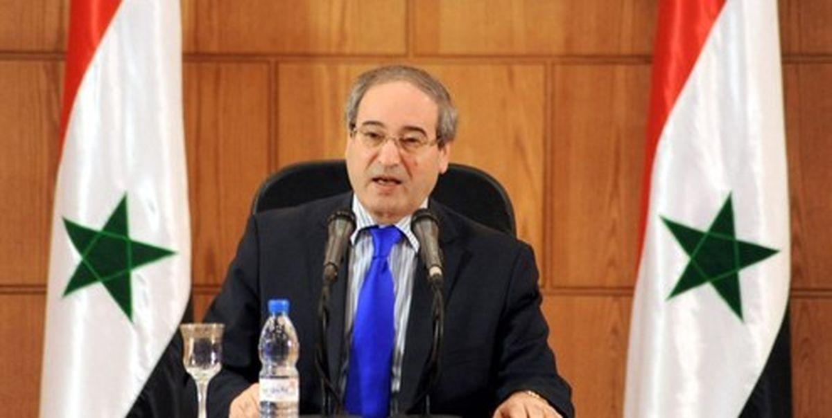 ورود وزیر خارجه سوریه به کشورهای اتحادیه اروپا ممنوع شد