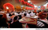 مراسم لیالی قدر در حرم امام علی(ع)/تصاویر