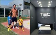 تشک گرانقیمت و ضد کرونایی لیونل مسی +عکس