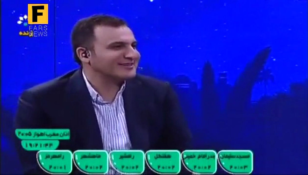 سوال مجری از فرمانده سپاه خوزستان؛ چرا اینقدر شما را تحریم میکنند؟