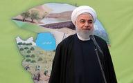 روحانی: زراعت چوب در دولت تدبیر و امید دو برابر شده است
