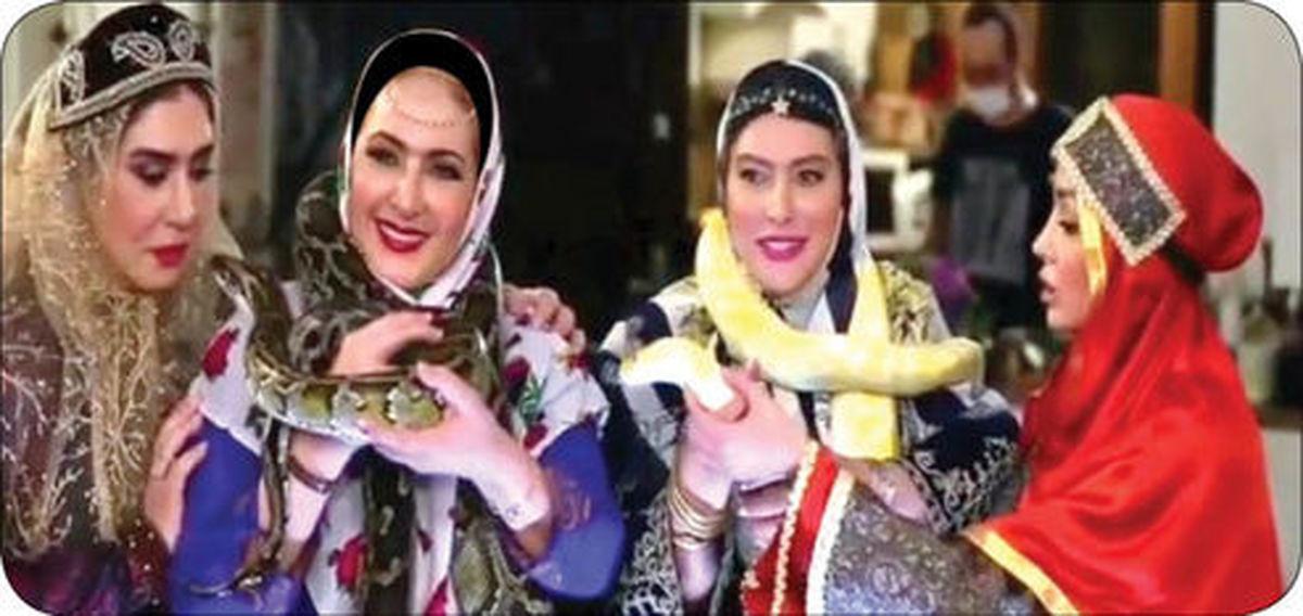 انتقاد از حیوان آزاری بازیگران زن در شامایرانی! +عکس