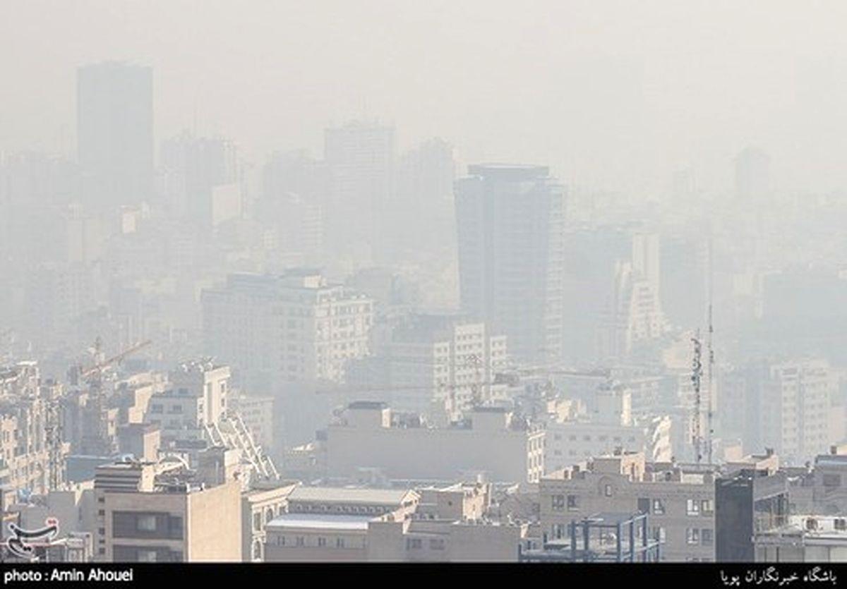 وضعیت آلودگی هوا در ۱۳ کلانشهر