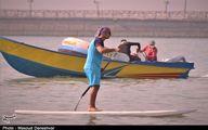 تصاویر: شلوغی شوکه کننده سواحل بندرعباس
