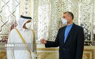 رایزنی تلفنی امیرعبداللهیان و وزیر خارجه قطر